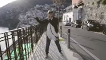 We are happy from Positano - Pharrell Williams