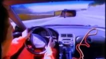 Ayrton Senna guida una Honda NSX a Suzuka - Magnifico onboard camera