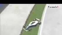 La ricostruzione in 3D dell'incidente di Ayrton Senna ad Imola