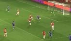 """Il fantastico gol di tacco di Baker in Chelsea-Arsenal """"primavera"""""""