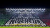 Juventus - Inter 3-1 (coreografia Juventus Stadium vista dalla sud)