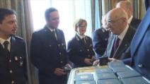 162°Anniversario Polizia, Napolitano parla agli allievi della scuola di polizia
