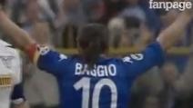 L'ultimo gol di Roberto Baggio allo Stadio Mario Rigamonti (2004)