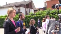 Giornalisti da tutto il mondo per l'inizio dei servizi sociali di Berlusconi