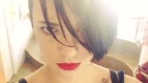 Asia Argento sfoggia il suo nuovo tatuaggio