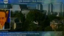 """Berlusconi: """"Grillo in Europa? Lo chiuderanno nel cesso"""""""