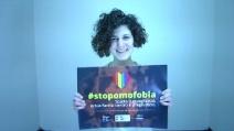 #stopomofobia, a Catania un selfie contro l'omofobia