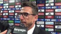 "Eusebio Di Francesco: ""Difendo Seedorf e aspetto Acerbi!"""