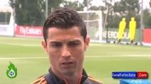 """Cristiano Ronaldo si arrabbia con un giornalista: """"Non sono imprudente"""""""