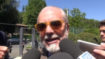 """De Laurentiis: """"Insigne, orgoglio Azzurro. Pronti 3 acquisti per il Napoli"""""""