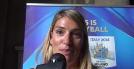 """Francesca Piccinini: """"Seguirò il Mondiale e spero che l'Italia faccia bene!"""""""