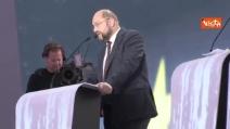 """Bruxelles, Schulz: """"Discuteremo col PPE sulla base di tre punti"""""""