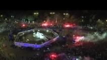 Real Madrid, grandi festeggiamenti per La Décima
