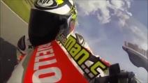 MotoGP, un giro al Mugello con Andrea Iannone