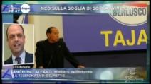 """Alfano: """"Crollo Forza Italia? Colpa degli errori di Berlusconi"""""""