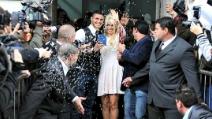 Wanda Nara e Mauro Icardi sposi