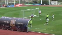 Il favoloso gol di Fabregas: tacco al volo durante l'allenamento della Spagna