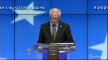 """Van Rompuy: """"Raccolto il messaggio delle urne, d'accordo sulla crescita"""""""