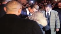 L'attacco di Vitalii Sediuk a Leonardo Di Caprio