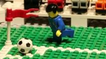 Mondiali 2014, Italia-Inghilterra giocata con i Lego