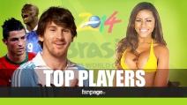 Brasile 2014, i TOP Player dei Mondiali di Calcio