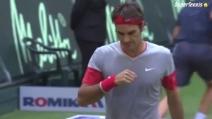 Incredibile, Federer vince il match ma non se ne accorge