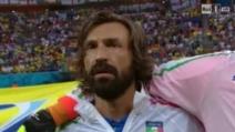 Inghilterra-Italia, azzurri cantano l'inno di Mameli