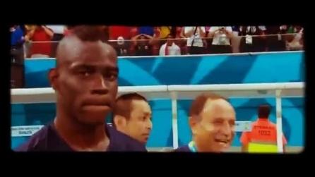 Inghilterra-Italia 1-2, Mario Balotelli zittisce tutti in mondovisione.