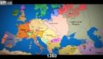 Com'è cambiata l'Europa in 1000 anni