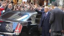 Napoli, Napolitano per inaugurazione mostra tra applausi e contestazioni