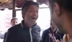 "Fiorello imita De Laurentiis: ""Higuaìn al Barça? Col ca***"""