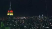 New York, l'Empire State Building celebra la vittoria della Germania