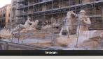 Fontana di Trevi: parte il restauro show