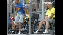 Mario Ferri prepara l'invasione di campo ma entra nello stadio fingendosi disabile