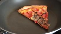 Come rendere croccanti gli avanzi di pizza