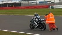 L'errore di Jorge Lorenzo a Silverstone nel 2011
