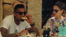 Melissa Satta e Kevin Boateng, relax a Porto Cervo in attesa del 'sì'