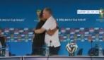 Neymar interrompe la conferenza di Scolari per salutarlo: è l'addio?