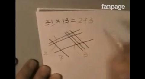 Ecco il metodo più semplice per svolgere le moltiplicazioni