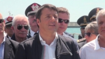 """Concordia, Renzi: """"Grazie a chi ha reso possibile l'impossibile"""""""