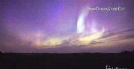 Con l'aurora boreale spettacolo nei cieli del Minnesota