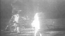 Il video di Neil Armstrong nel primo sbarco sulla Luna