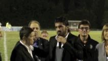 Rino Gattuso premiato al Memorial Gaetano Scirea 2012