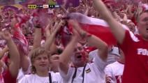 EURO 2012 Poland 1 - 0 Greece - Lewandowski 17'