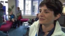 Novaglia: in metro i genitori spiegano la paralimpiadi ai bambin