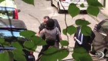 Fiorito, ultimi momenti prima dell'arresto