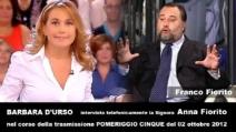 La mamma di Fiorito contro Barbara D'Urso (AUDIO)