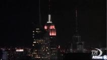 L'Empire State Building si tinge di rosa per la bambine