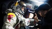 Red Bull Stratos: test-jump di Felix Baumgartner