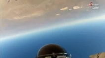 Ecco cosa ha visto Felix Baumgartner durante il lancio di Red Bull Stratos